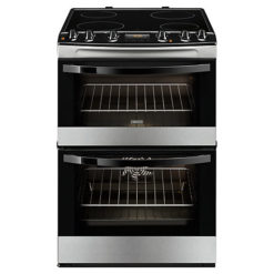 Zanussi 60cm Electric Cooker – S/Steel