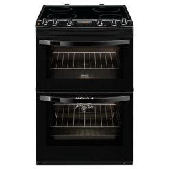 Zanussi 60cm Electric Cooker –  Black