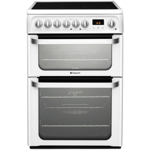 Hotpoint 60cm Electric Cooker –  White