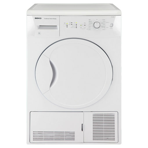 Beko 8kg Condensor Dryer – White