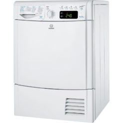 Indesit 8kg Condenser Dryer – White