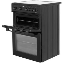 Beko Ceramic 60cm Cooker- Black