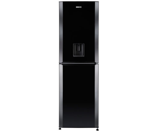 Beko 60cm Fridge Freezer – Black
