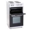 Zanussi 60cm Electric Cooker – White