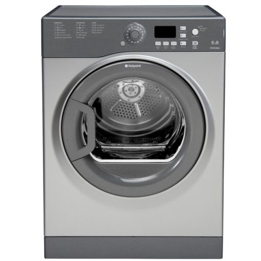 Hotpoint 6KG Vented Tumble Dryer – Silver