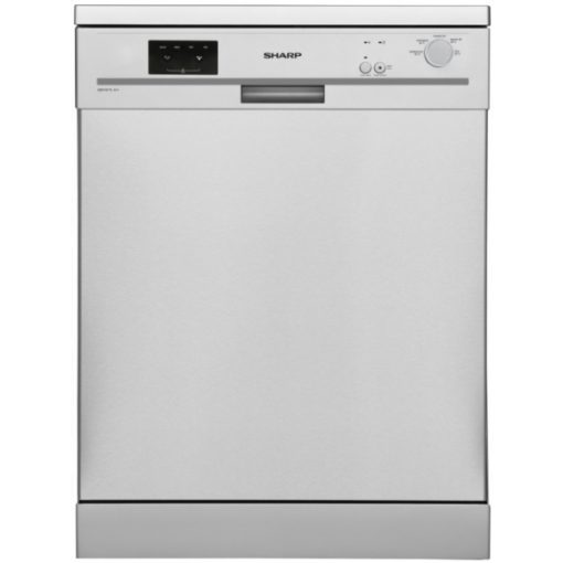 Sharp 60cm Dishwasher  – Silver