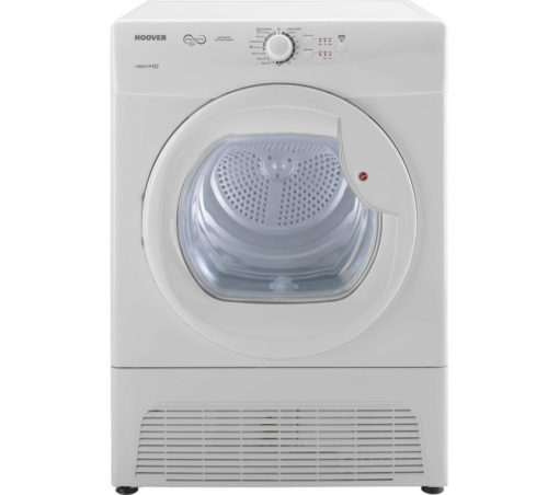 Hoover 9kg Condenser Dryer – White