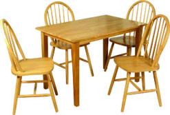 Hanover – 6 Seat Dining Set Spindleback
