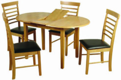 Hanover Light – Oval Dining Set