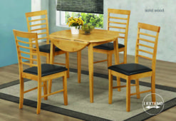 Hanover Light – Drop Leaf Dining Set