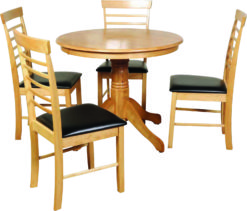 Hanover Light – Round Dining Set