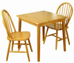 Honeymoon  – Square Dining Set Spindleback
