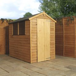 6ft x 4ft Overlap Shed