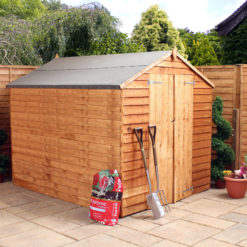 8ft x 6ft Overlap Shed