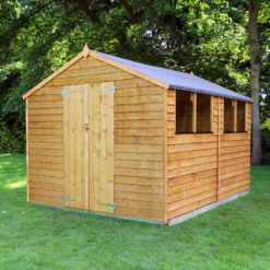 10ft x 8ft Overlap Shed