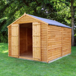 12ft x 8ft Overlap Shed