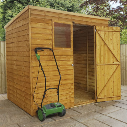 7ft x 5ft Overlap Shed