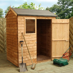 6ft x 4ft Overlap Reverse Shed