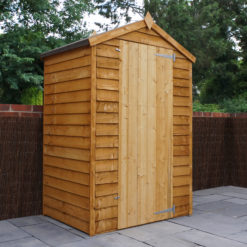 3ft x 4ft Overlap Shed