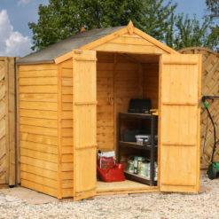 4ft x 6ft Overlap Shed