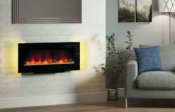 "38"" Acari wall / stand mounted electric fire"