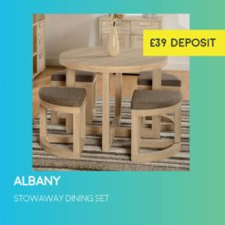 Albany Space Saving Dining Set