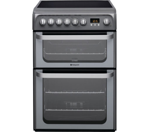 Hotpoint 60cm Electric Cooker – Graphite