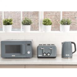 Slate Kettle, Toaster & Microwave