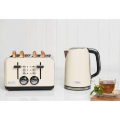 Cream Kettle & Toaster