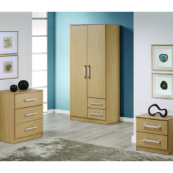 Daisy Bedroom Set – Oak